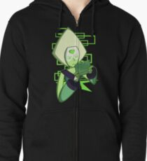 Gamer Dorito (Peridot) Zipped Hoodie