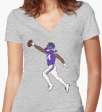 Minnesota Miracle Women's Fitted V-Neck T-Shirt