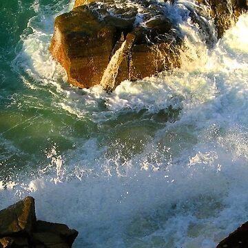 Sun Line in Splash by Willison