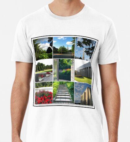 Der Preston-Tempel-Boden in der Hochsommer-Collage Premium T-Shirt
