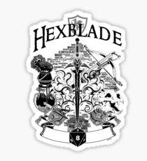RPG Class Series: Hexblade - White Version Sticker