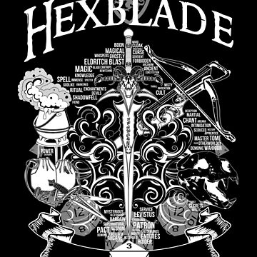 RPG Class Series: Hexblade - White Version by Milmino
