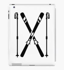 Crossed ski iPad Case/Skin