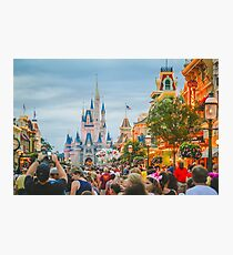 Main Street USA Photographic Print