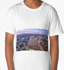 Brisbane from the sky Long T-Shirt