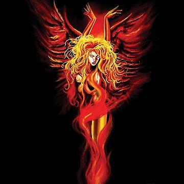 phoenix by tigressdragon