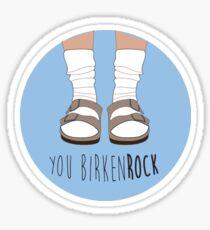 Birken-rock Sticker