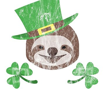 St Paddy's Sloth by Soulfire86