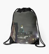 Nightlight, night Drawstring Bag