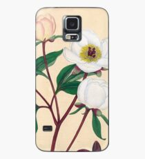 Botanical illustration: Peonies by Henry Charles Andrews – State Library Victoria Case/Skin for Samsung Galaxy