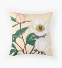 Botanical illustration: Peonies by Henry Charles Andrews – State Library Victoria Floor Pillow