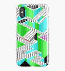 Gyroscope Level 2 - ZX Spectrum Game Map iPhone Case