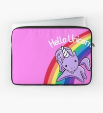 Hello Unicorn (Clean) Most Accurate Altered Carbon Laptop Sleeve