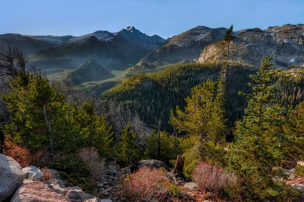 Dream Lake Overlook in Rocky Mountain National Park. by mattmacpherson