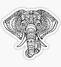 Help Lizzie Save The Elephants Sticker