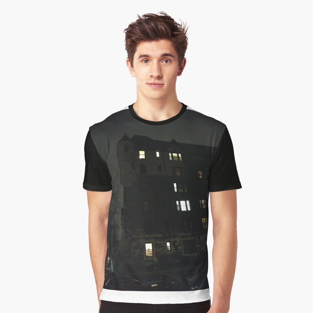 Building Graphic T-Shirt Front
