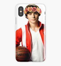 Zac Efron Flower Crown iPhone Case