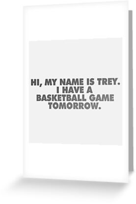 Hi my name is trey vine quote greeting cards by electricgal hi my name is trey vine quote greeting cards by electricgal redbubble m4hsunfo