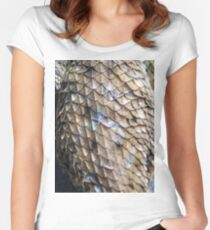 ©NS Reptile Pattern IA Women's Fitted Scoop T-Shirt
