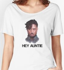 KILLMONGER | HEY AUNTIE Women's Relaxed Fit T-Shirt