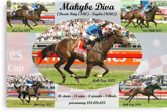 Makybe Diva Career Tribute by quentinjlang