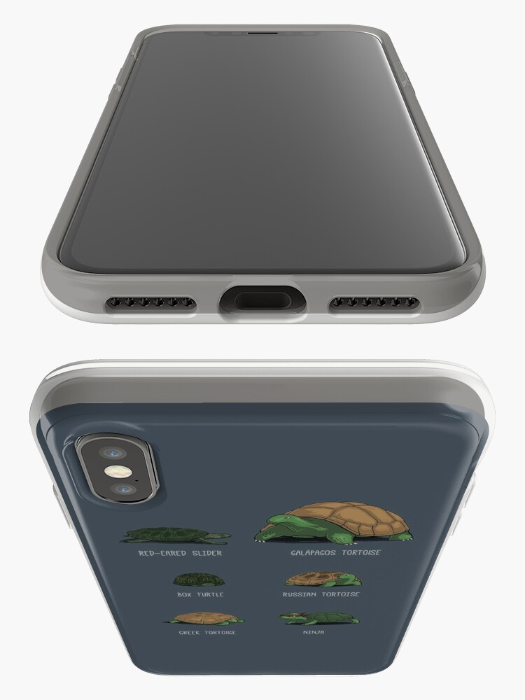 Alternate view of Know Your Turtles iPhone Case & Cover