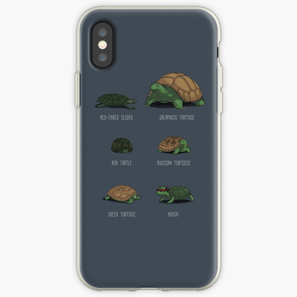 Know Your Turtles iPhone Case & Cover