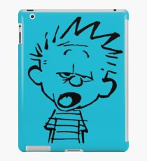 Calvin Want's To Sleep iPad Case/Skin