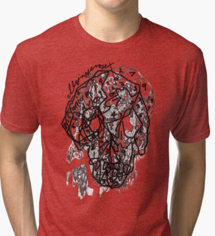 suduko cranium Tri-blend T-Shirt