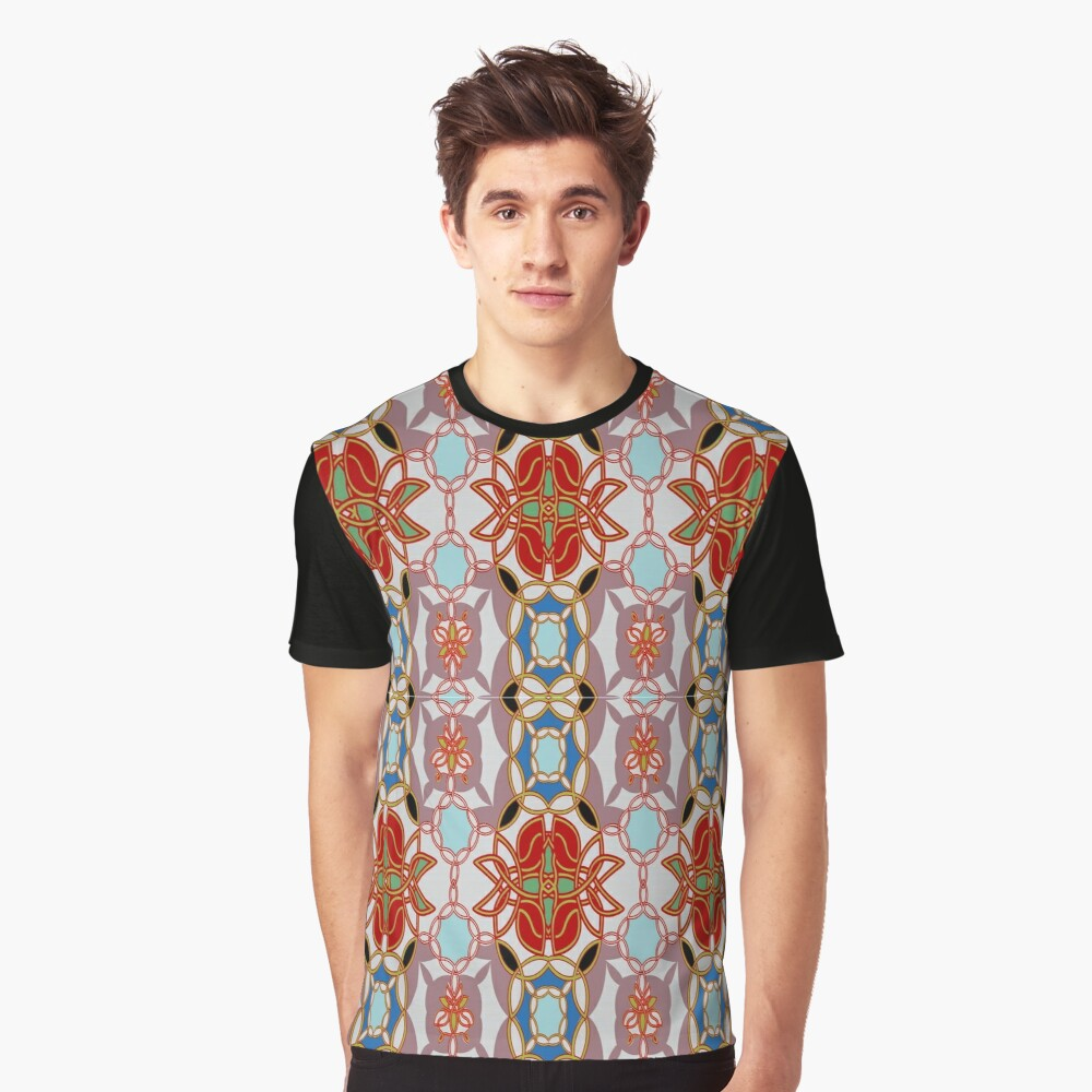 Pattern, design, arrangement, collection, collage, picture, pastiche, tessellated Graphic T-Shirt Front