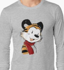 Hobbes Cute Long Sleeve T-Shirt