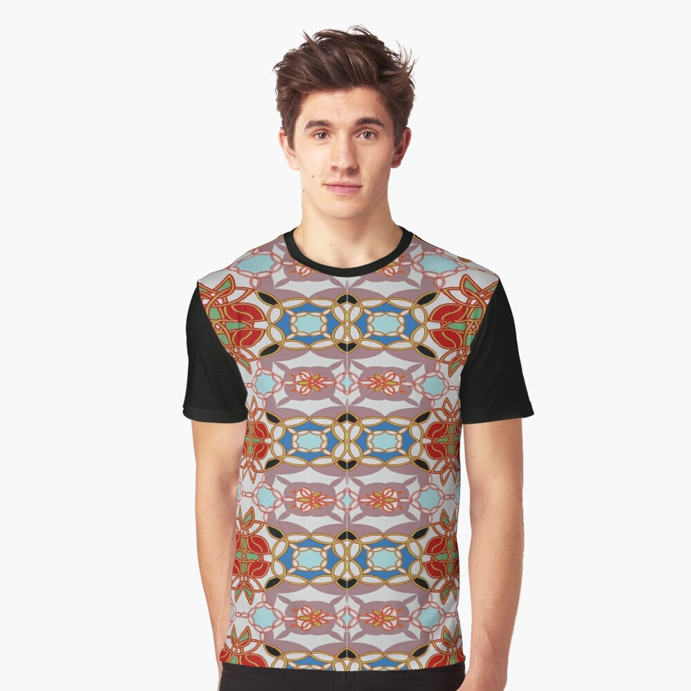 pattern, design, arrangement, collection, collage, picture, pastiche, tessellated, decorate Graphic T-Shirt Front