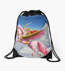 She-Ra and Swiftwind soaring in the clouds! Drawstring Bag