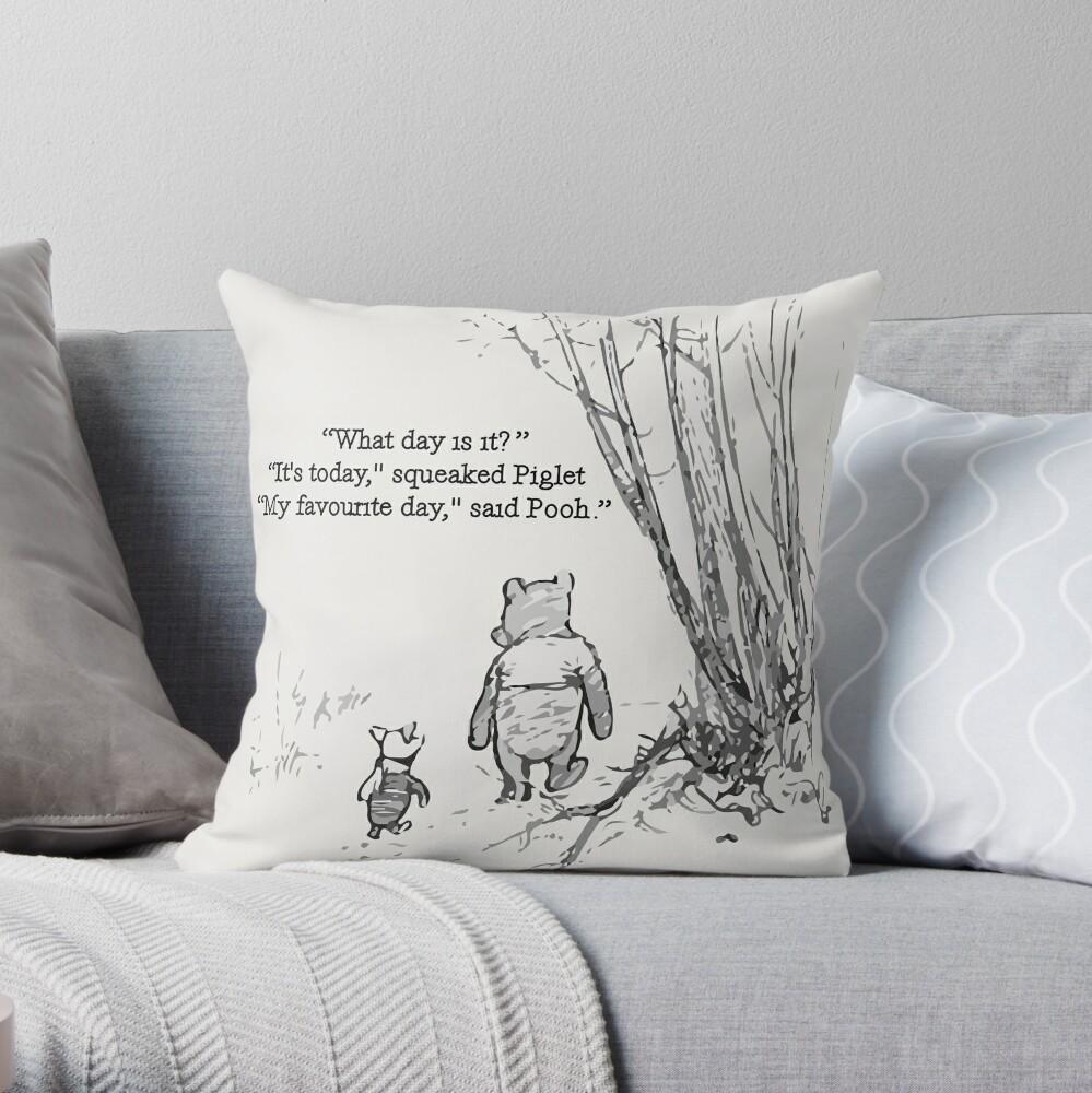My Favourite Day Throw Pillow