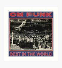 CM Punk - Best In The World Art Print