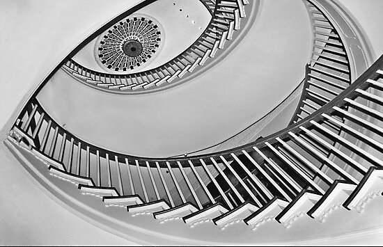 Winterthur spiral staircase by cclaude