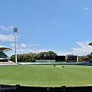 Adelaide Oval, South Australia. by Ian Berry