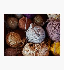 Knit Song Photographic Print