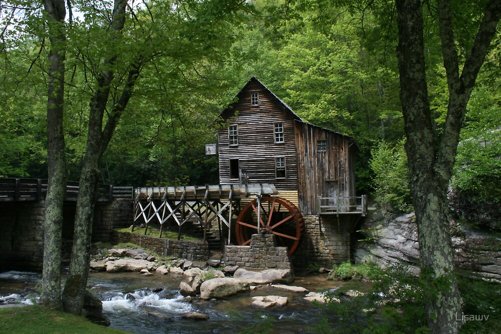 Glade Creek Grist Mill VI by Lisawv