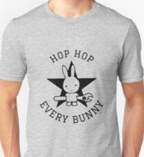 HOP HOP every Bunny Easter Shirt  Unisex T-Shirt