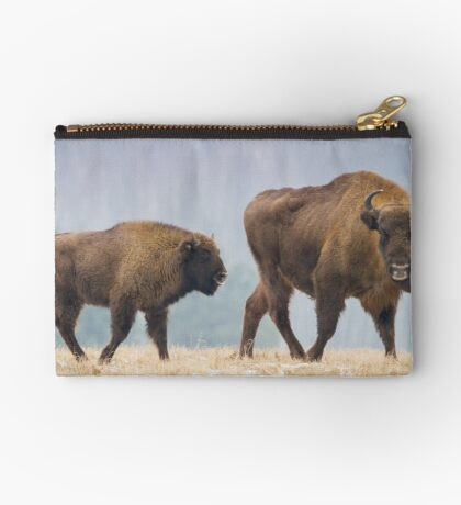 Cow and a calf Studio Pouch