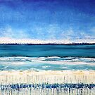 On the Beach by Kathie Nichols