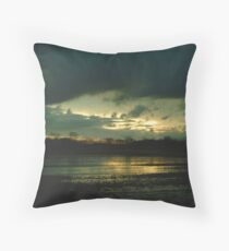 021109-24  SUNSET STORM Throw Pillow