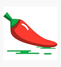 Hot Pepper Photographic Print
