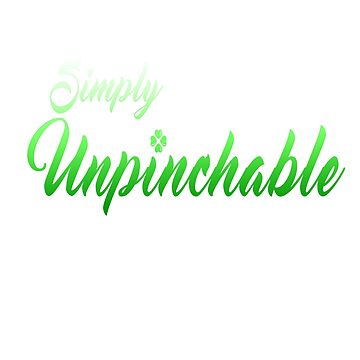 Simply Unpinchable by SamSteinDesigns
