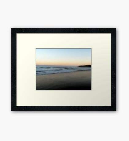 Beach Impressions - South Framed Print