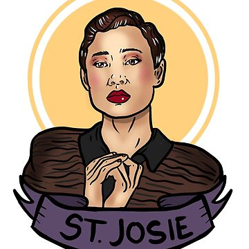 Saint Josie of the Saw Mill by GoldDustGypsy