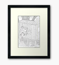 beegarden.works 012 Framed Print