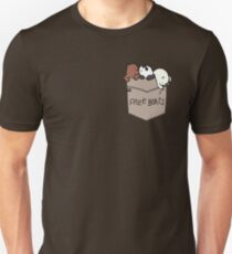 Wir bare Bären Pouchie Shirt Slim Fit T-Shirt