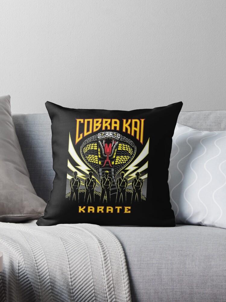'cobra kai - tv series' Throw Pillow by jamuxlil